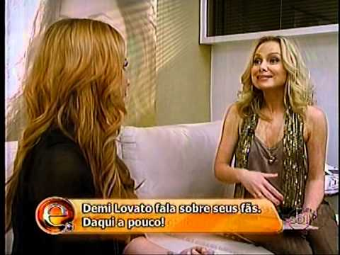 Entrevista de Demi Lovato no programa da Eliana 17/06/12
