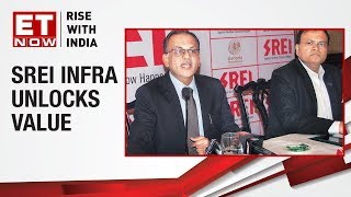 SREI Infrastructure's CMD Hemant Kanoria briefs media about unlocking value for shareholders