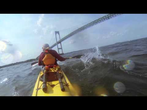 Downwind fun with Wild Turkey Paddlers Newport and Jamestown,