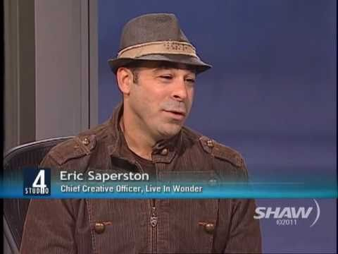 Inspirational Speaker Eric Saperston on Studio 4 with Fanny Kiefer Part 1 of 2