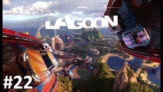 Zagrajmy W Trackmania 2: Lagoon #22 Trasa C12, C13 (Między Filarami)