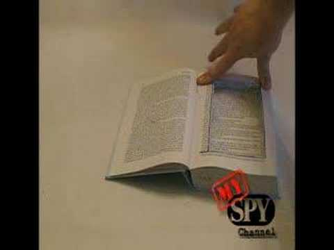 How to Build Secret Compartments ... Hollow Spy Book