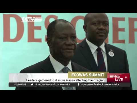 West-African leaders gather to discuss issues affecting their region