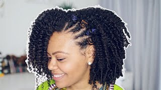 Salon Chair Chat w/ Ravenne | I am Black! 4B Twist-Out
