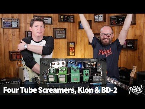 That Pedal Show – Four Tube Screamers Compared, plus Klon Centaur & Boss BD-2