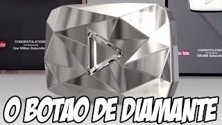 Youtube lança o BOTÃO DE DIAMANTE, LINDO DEMAIS