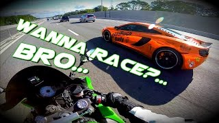 Modded Mclaren walks ZX6R like a BOSS!!! / Goldrush Rally