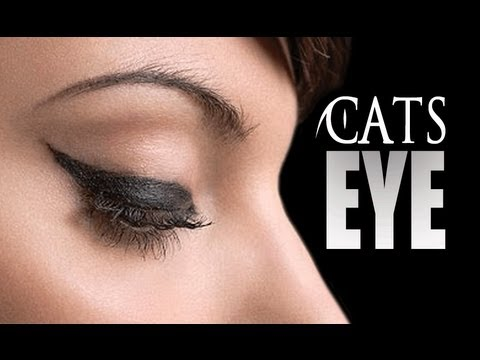 HOW TO: CAT EYELINER/FELINE FLICK TUTORIAL - MADE EASY