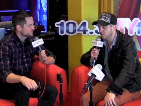 Ryan Tedder Backstage At The GRAMMYs With 104.3MYFM