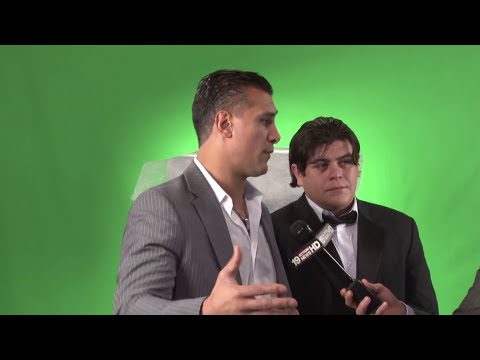 Alberto Del Rio and Ricardo Rodriguez Interview in Cleveland