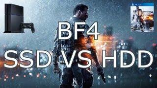 PS4 HDD Vs SSD BF4, BO3, Far Cry 4