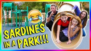 SARDINES AT THE PLAYGROUND   HIDE AND SEEK   We Are The Davises