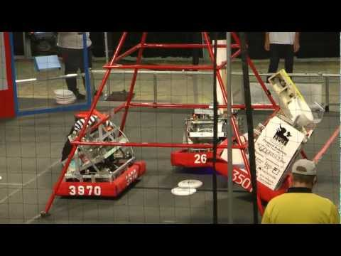 FRC 2013 Central Valley Regional (CVR) Semi-Finals Teams 2643, 3501, 3970 vs. 701, 670, 4159