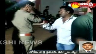 Six held for attacking forest officials | అటవీ అధికారులపై  అమానుష దాడి