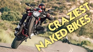 8 Craziest Naked Bikes You Can Buy Right Now