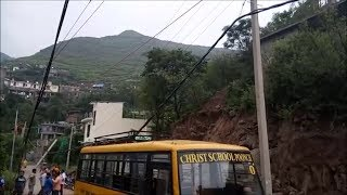 Live wire falls on school bus in Poonch