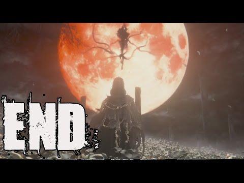 Bloodborne Final Boss Fight Gehrmen The First Hunter and Ending