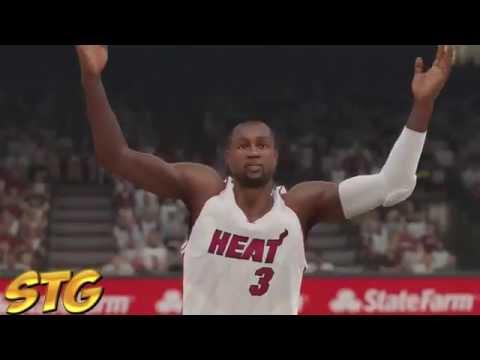 NBA 2k15 PS4 HD Gameplay - Miami Heat vs San Antonio Spurs! Finals Rematch!