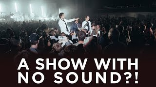 a show with NO SOUND?!