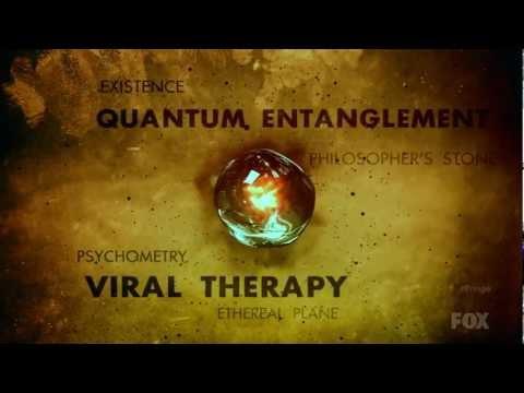 Fringe - Orange / Yellow / Amber Theme Intro, Season 4 (new)