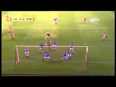 The moment where Graeme Sharp misses an open goal comes at 4:56. Liverpool's record at Anfield in Cup matches was formidable - they had lost only one of thei...