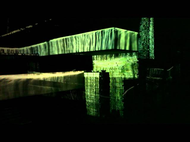 Fallingwater Light and Sound show