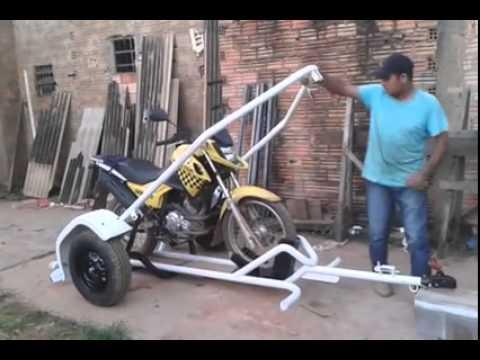 Trailer para Moto - MUY INTERESANTE