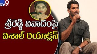 Sri Reddy shames Tollywood : Actor Vishal