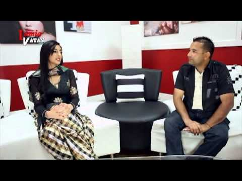 Hardeep Cheema with Rishma Johal on vision tv show ( Lamiya...