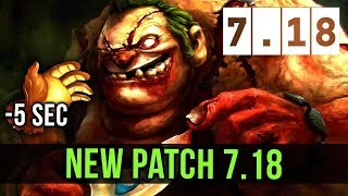 Dota 2 Gameplay : NEW 7.18 PATCH UPDATE(Free No Copyright Gameplay)