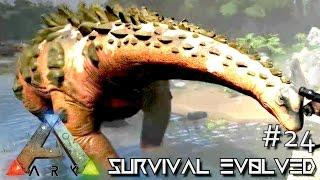 ARK: Survival Evolved - TITANOSAURUS TAMED NEW UPDATE !!! - SEASON 4 [S4 E24] (The Center Gameplay)