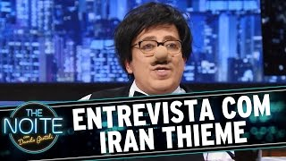 The Noite (08/10/15) - Entrevista com Iran Thieme, o Santos