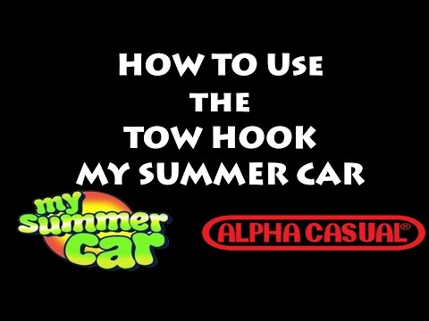How to tow vehicles in My Summer Car