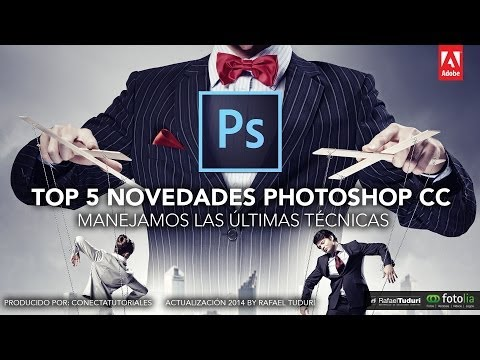 Top 5 novedades Photoshop CC 2014 by @Conecta