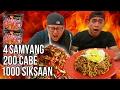 SADIS!! Samyang ABANG ADEK 200 Cabe Challenge ft Tanboy Kun