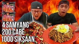 download lagu Sadis Samyang Abang Adek 200 Cabe Challenge Ft Tanboy gratis