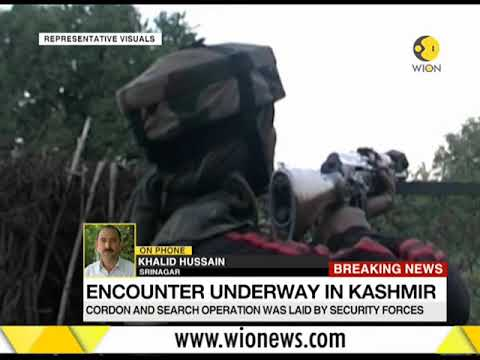Breaking News: Encounter underway in Chattabal area of Srinagar