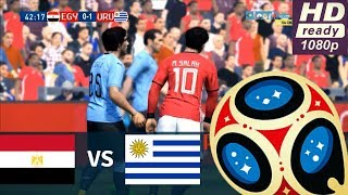 EGYPT vs URUGUAY | 0-1 🔴Goals and Highlights | FIFA World Cup Russia 2018 | Group A | 15/06/2018