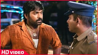 Attakathi - Thirudan Police Tamil Movie - Rajendran escapes from Attakathi Dinesh