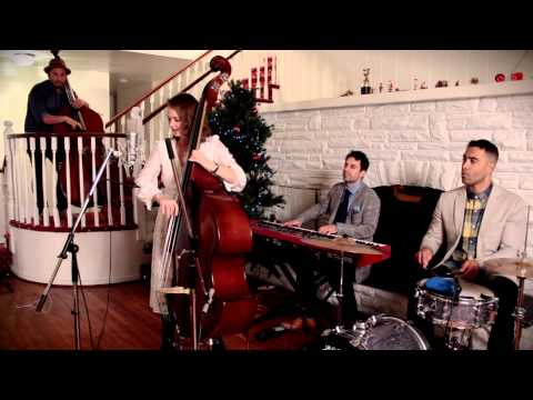 Blue Christmas - Elvis Presley (Dueling Basses Christmas Cover) (ft. Kate Davis)