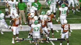 LHN Texas vs North Texas highlights [Aug. 31, 2014]