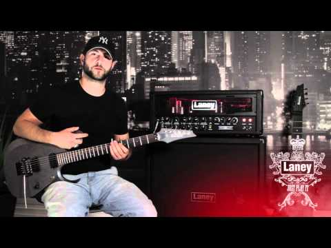 Laney Ironheart IRT120 Head Demonstration Video by Andy K