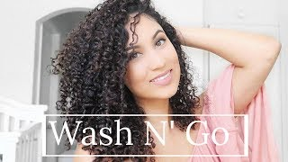 WASH N' GO ROUTINE | 3b Natural Curly Hair
