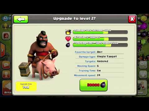 Clash of Clans Characters Dark Barracks Clash of Clans Update Dark