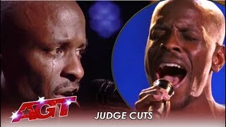 Damiyr: New York Subway Singer SPILLS His Heart On Stage! | America's Got Talent 2019