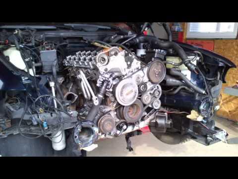 BMW 530d E39 Oprava motora...
