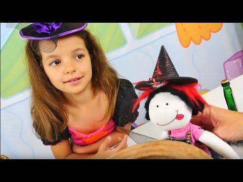 Маленькая ведьмочка Кати - Игры для девочек - Кем хочет стать кукла Маша?