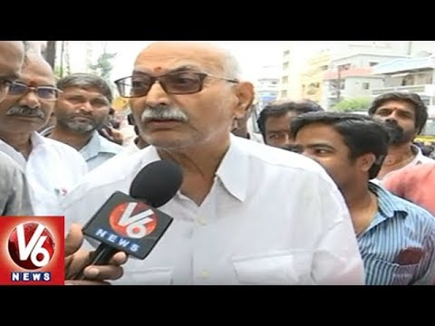 Public Response On GHMC's Footpath Encroachment Demolition Drive | V6 News