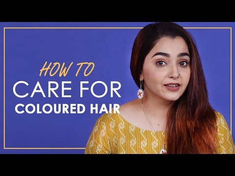 Hair Care Tips For Coloured Hair | BeBeautiful