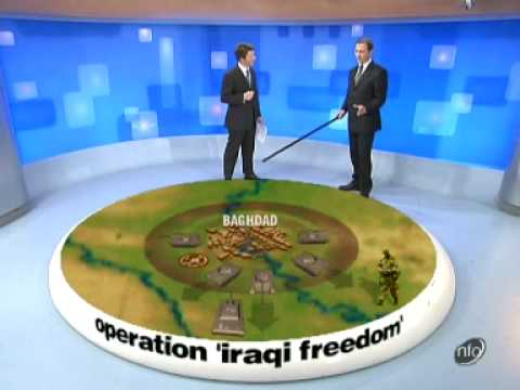 Iraq War Day 15 Battle Zone CH5
